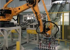 水泥粉码垛机 自动码垛机 码垛机器人的图片