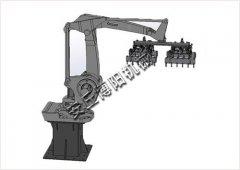 码垛机械手 全自动码垛机自动控制的图片