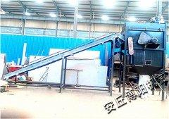 山东自动拆包机 水泥拆包机非标定订做的图片