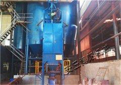 石灰粉吨袋卸料机 TCD1000吨袋拆袋机使用效果的图片