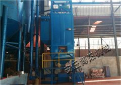 山东吨袋拆包机 碳酸钙粉吨包拆包机配套输送设备的图片