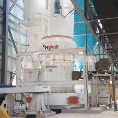 黑粉膨潤土雷蒙磨工藝加工礦石生產設備的圖片