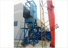矿粉吨包卸料机 博阳吨袋拆包设备工作流程及现场的图片