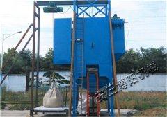 煤粉吨袋卸料站 TCD1000吨袋拆袋机性能优势的图片