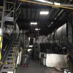 果壳椰壳等物料工业活性炭生产线