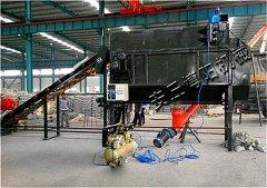 钛白粉自动拆包投料站 编织袋粉料自动拆包机方案设计的图片