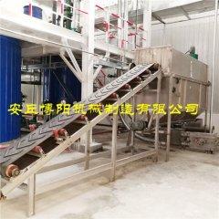 片碱自动拆包机 CDJ50自动拆袋站工作流程的图片