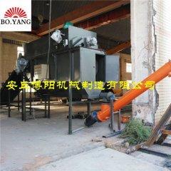 硫磺粉自动拆袋站 博阳自动拆包卸料机性能优势的图片