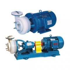 FSB型氟塑料合金离心泵的图片