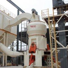 石油焦立磨系统粉碎炭素石油焦立式磨粉机的图片