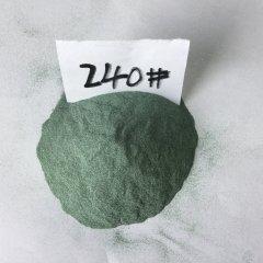 绿碳化硅微粉240#抛光研磨材料