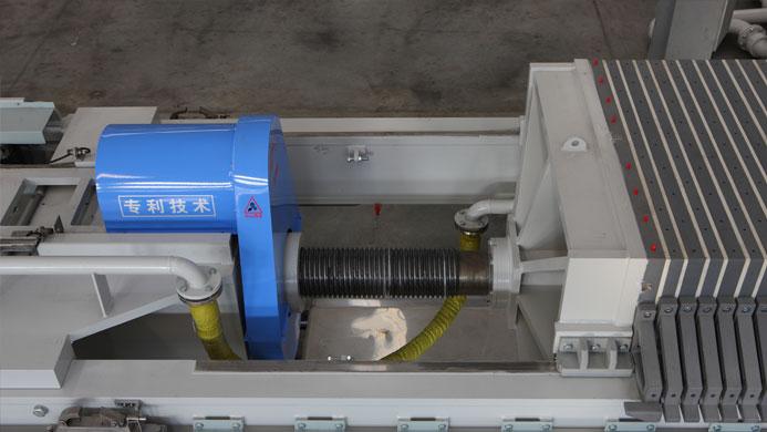 压滤机自动锁紧装置的图片