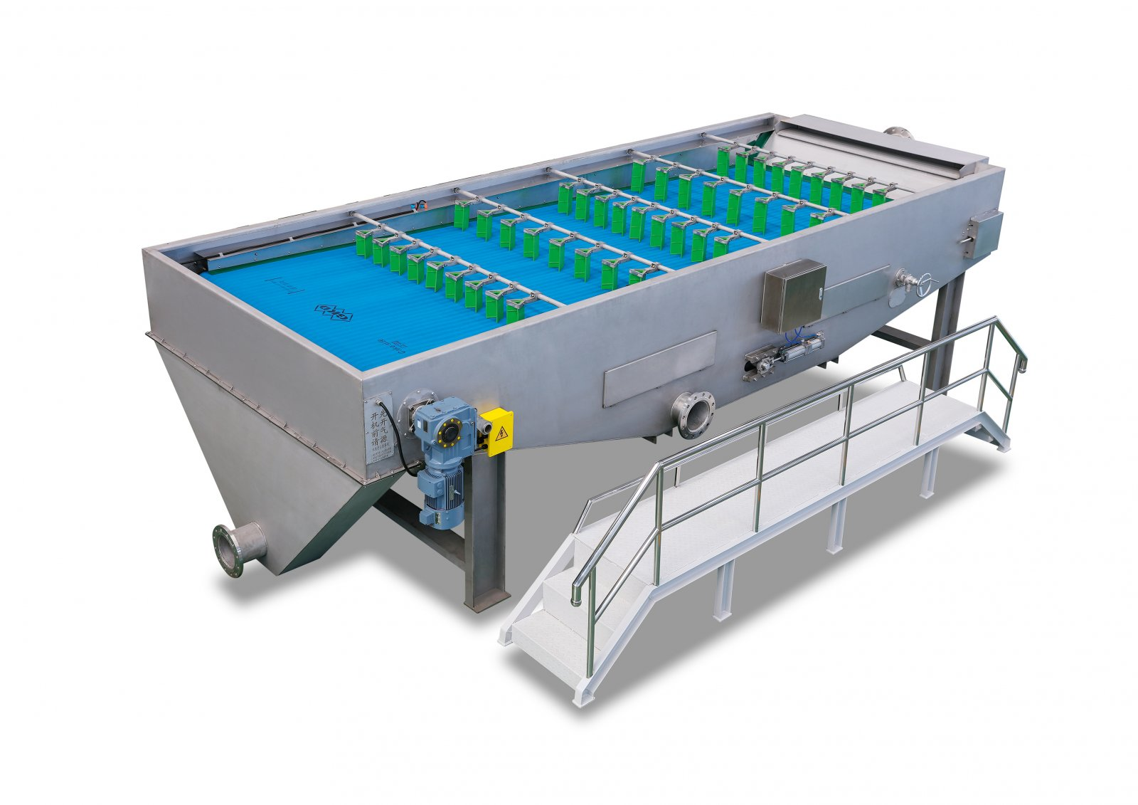 一体式机械带式浓缩机的图片