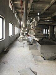 新鲜芝麻烘干机(振动流化床干燥机)