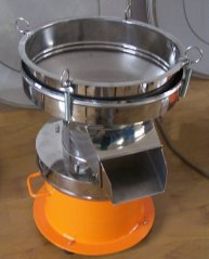 豆浆过滤机  豆浆除渣筛  豆浆分样筛 新乡华维机械的图片