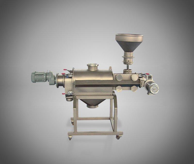 立式气流筛分机的图片