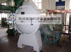 卧式碳化炉