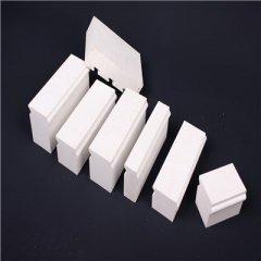 博迈陶瓷H40-100mm微晶耐磨氧化铝衬砖