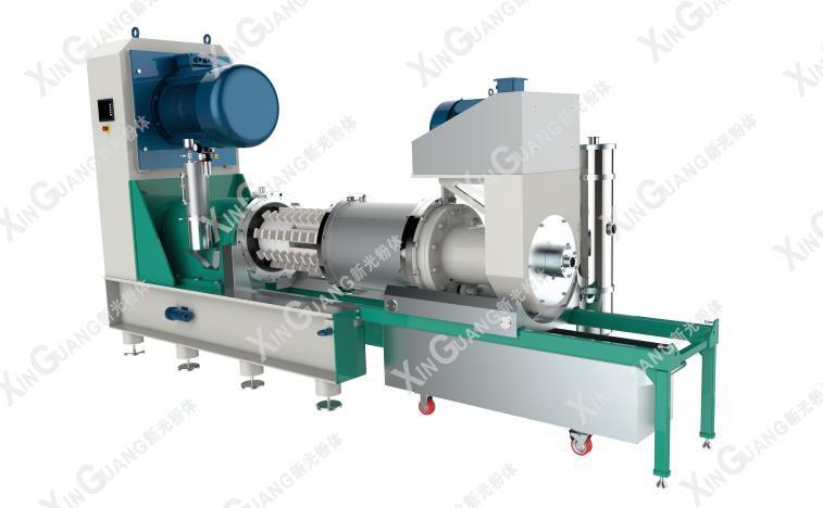 双动力棒销式分散研磨机SMLV系列的图片