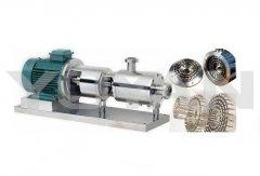 三级管线式高剪切乳化泵的图片