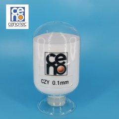 0.1mm 韓國賽諾氧化鋯珠 進口氧化鋯球 納米研磨介質的圖片