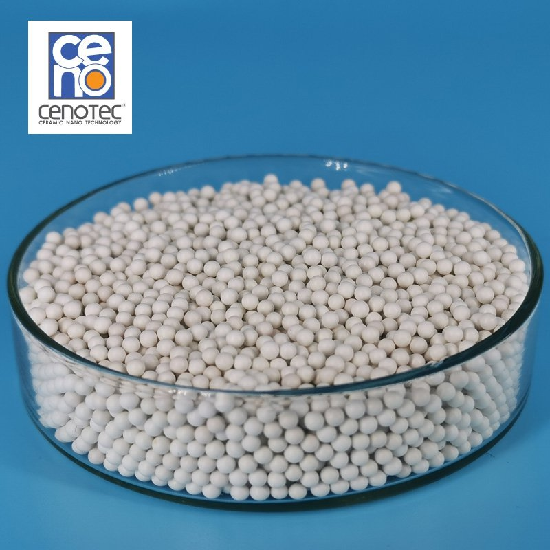 进口复合锆珠 韩国赛诺复合锆球 替换氧化铝球 研磨介质的图片