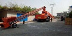 江苏联源混凝土布料机的应用举例