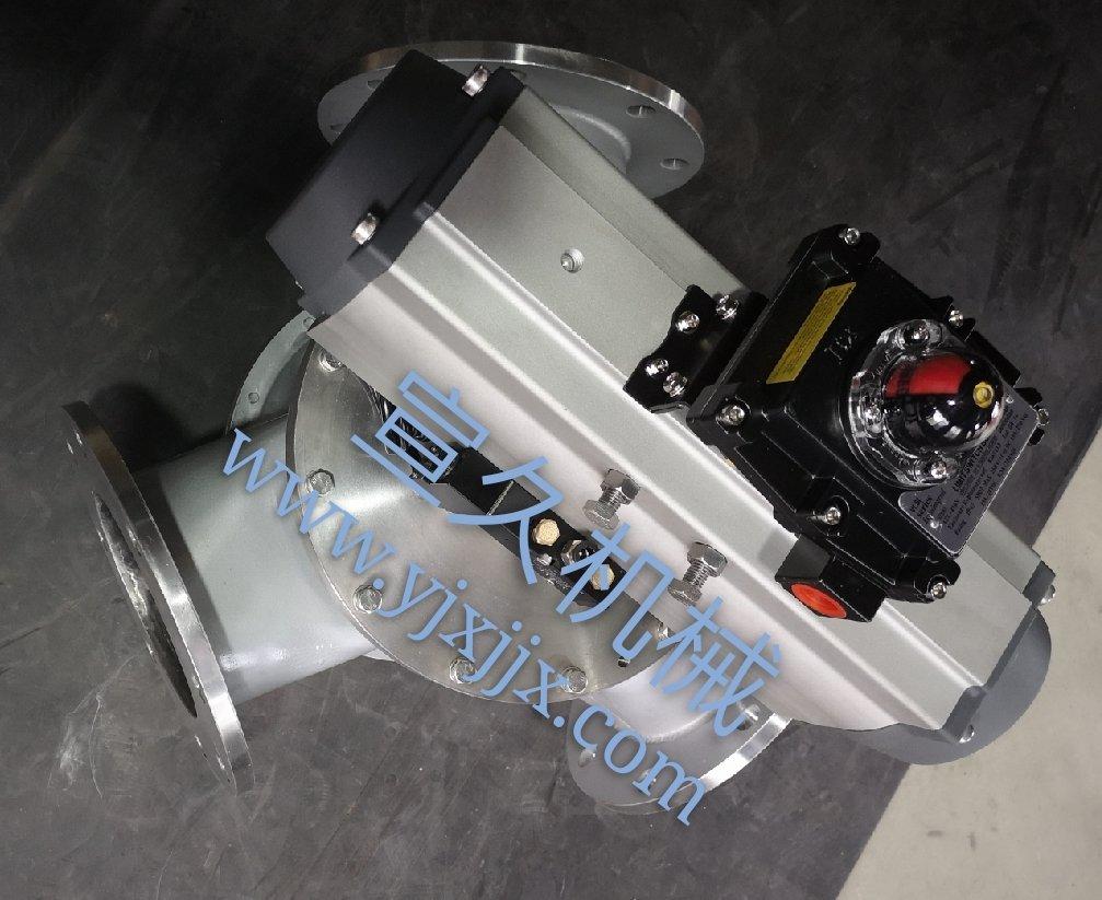 气动输送换向器 Y型三通阀的图片