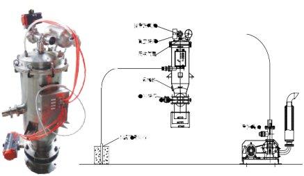 电动真空输送机-间歇式的图片