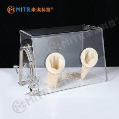 A型有机玻璃手套箱(简易手套箱)的图片