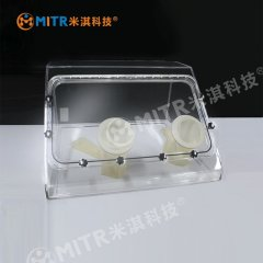 B型有机玻璃手套箱(厌氧手套箱)的图片