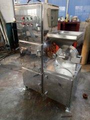 大米米粉120目細微磨粉設備食品果蔬顆粒白糖水冷錘式**粉碎機