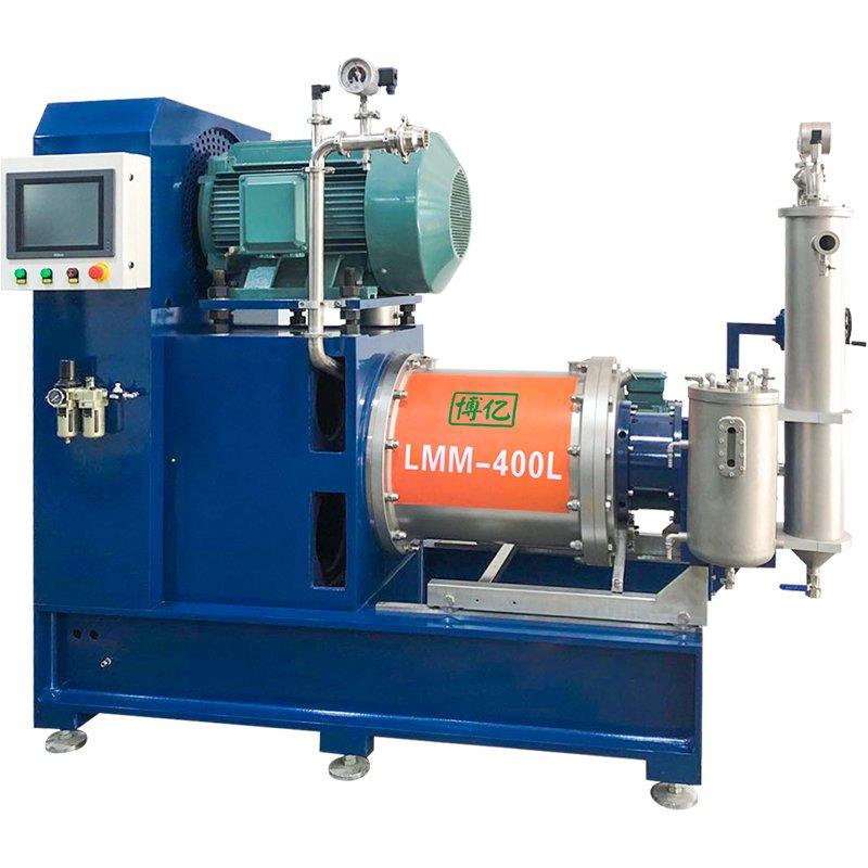 LMM-400型离心分离式纳米陶瓷砂磨机的图片