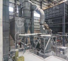 桂林矿机摆式石灰石雷蒙磨 磨粉机的图片