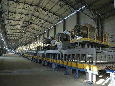 为祖国献礼 | 中亚地区最大最先进的浮法玻璃生产线即将建成