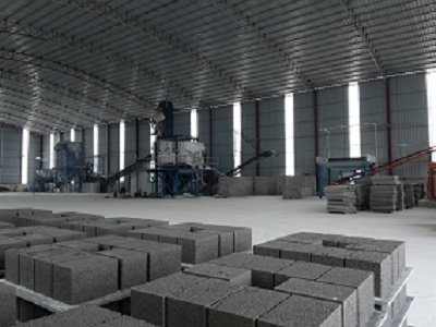 广西一家人造岗石企业 固废综合循环利用项目试产