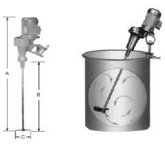 YJ型可移动式轻型搅拌机