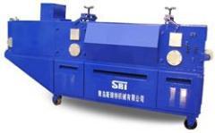 鋼管調直機韓資青島斯瑞特機械獨家專利產品