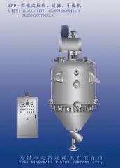 RFD-筒錐式反應過濾干燥機的圖片