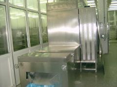 微波70KW三層隧道式干燥設備