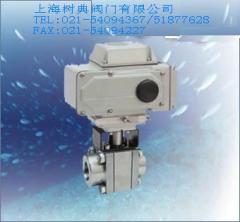 进口高压电动球阀-上海树典阀门的图片