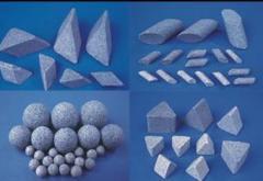 棕刚玉研磨石肩膀,塑胶研磨石,高频瓷,高铝瓷