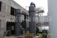 多管式水膜脫硫除塵器