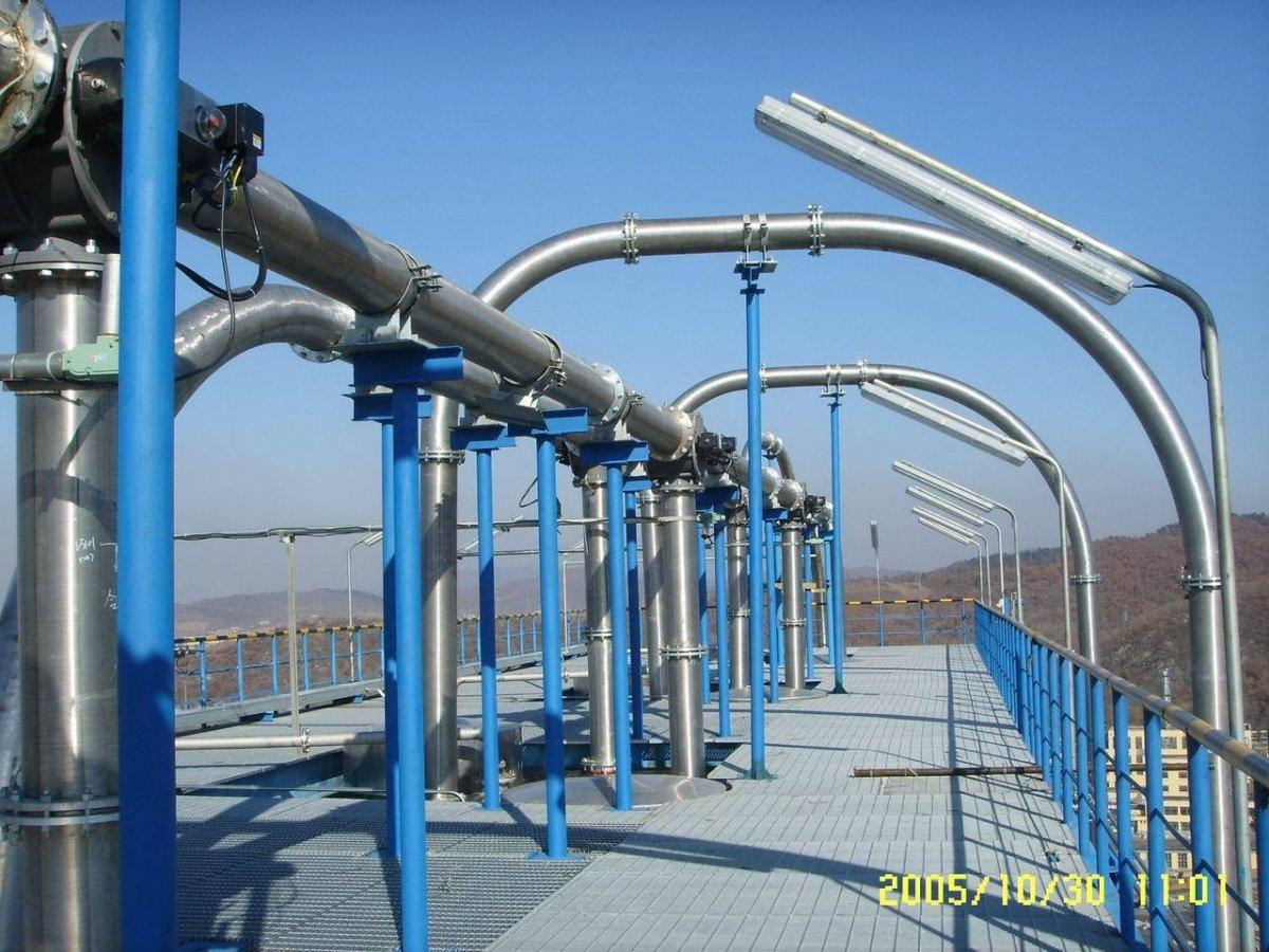 30万吨HDPE装置粉料、粒料输送系统的图片