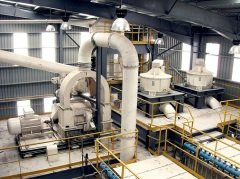 10万吨碳酸钙生产线的图片