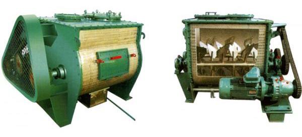 WZ系列无重力双轴桨叶混合机的图片