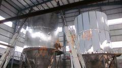 上排风喷雾干燥塔的图片