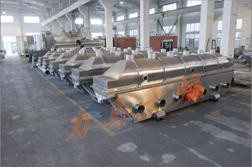 氯化镁专用振动流化床干燥机图片