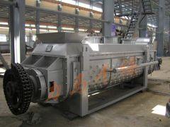 双级桨叶式干燥设备污泥过热蒸汽干化系统的图片