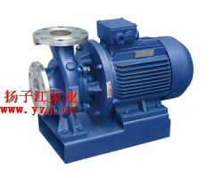 管道泵:ISWH臥式不銹鋼管道離心泵
